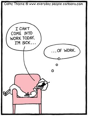 sick-of-work